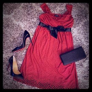 Gorgeous Red & Black dress